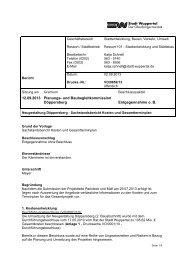 Drucksache VO/0659/13 - Stadt Wuppertal