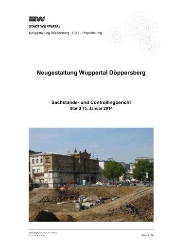 PBK Controllingbericht 1/2014 - Stadt Wuppertal