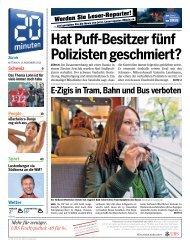 Hat Puff-Besitzer fünf Polizisten geschmiert? - 20 Minuten