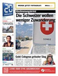 Schweiz - 20 Minuten