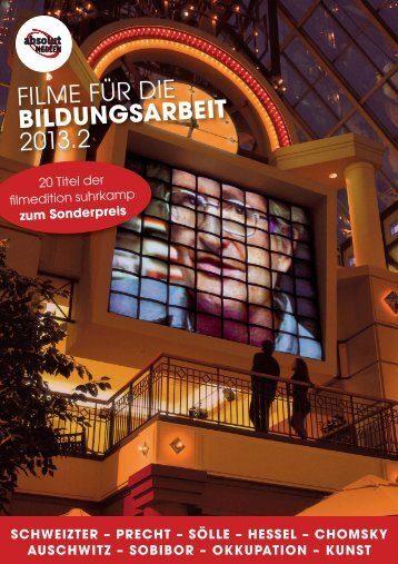 FILME FÜR DIE BILDUNGSARBEIT 2013.2 - bei absolut MEDIEN