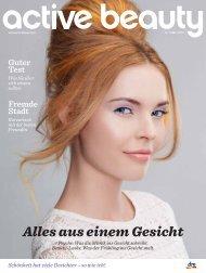 Alles aus einem Gesicht - active beauty Magazin Winter 2013
