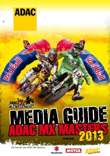 Media Guide 2013 - ADAC MX Masters