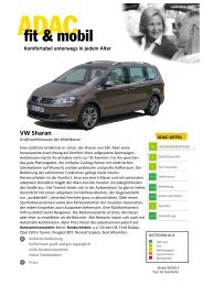 VW Sharan - ADAC