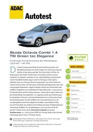 Skoda Octavia Combi 1.4 TSI Green tec Elegance - ADAC