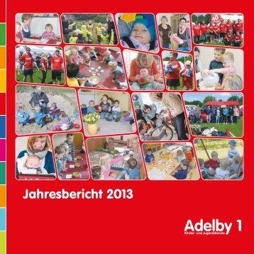 Jahresbericht 2013 - Adelby 1