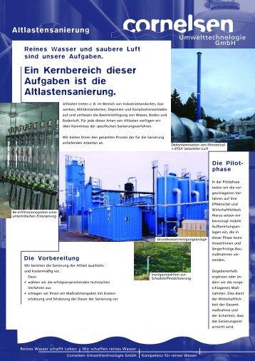 Altlasten - Cornelsen Umwelttechnologie Gmbh