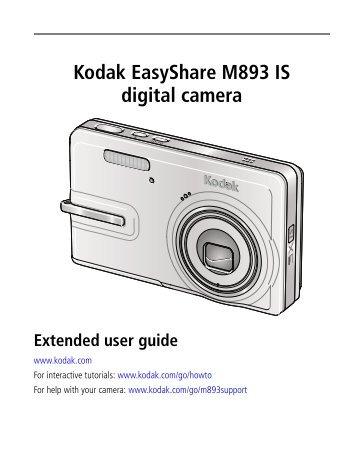 Kodak EasyShare M893 IS digital camera - Icecat