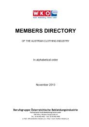 MEMBERS DIRECTORY - Advantage Austria