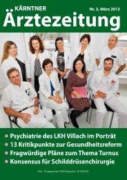 Psychiatrie des LKH Villach im Porträt - Ärztekammer für Kärnten