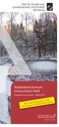 Programm - Amt für Ernährung, Landwirtschaft und Forsten Würzburg