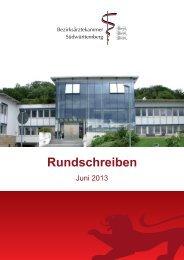 Rundschreiben - Landesärztekammer Baden-Württemberg