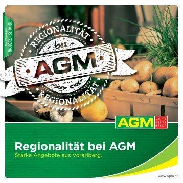 Regionalität bei AGM