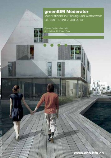 greenBIM Moderator - AHB - Berner Fachhochschule