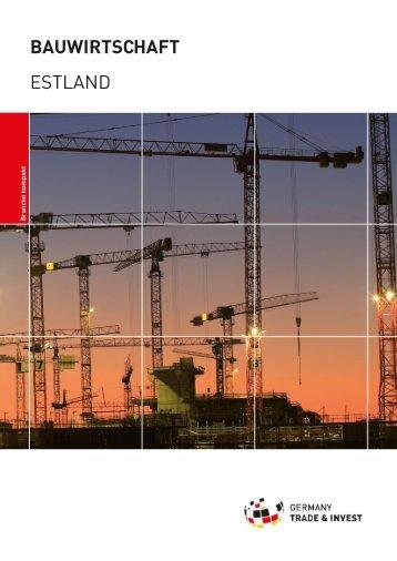 bauwirtschaft estland - Deutsch-Baltische Handelskammer in ...