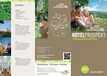 RZ_2013_Hausprospekt BHF.indd - AHORN Hotels