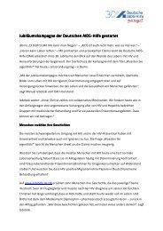 Pressemitteilung - Deutsche AIDS-Hilfe e.V.