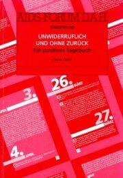 Unwiderruflich und ohne zurück - Deutsche AIDS-Hilfe e.V.