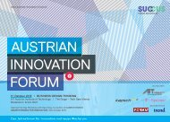 AIF 2013 Programmfolder - AIT Austrian Institute of Technology