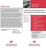 Über uns - AH Akademie für Fortbildung Heidelberg GmbH