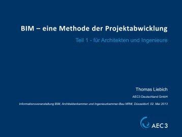 BIM – eine Methode der Projektabwicklung