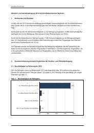 Struktur- und Gehaltsbefragung 2013 der Architektenkammer ...