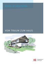 VOM TRAUM ZUM HAUS - Architektenkammer Sachsen