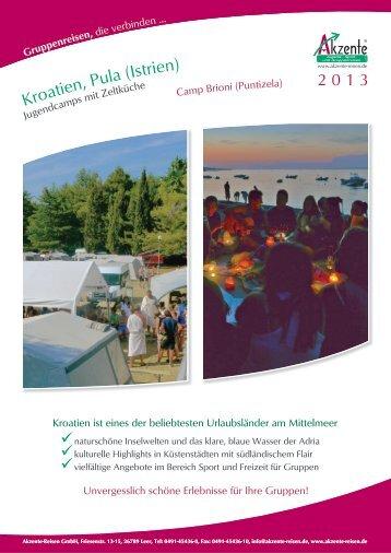 Kro en, (Istrien - Akzente-Reisen GmbH