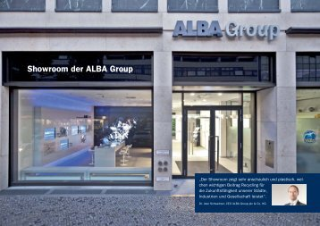 Dokumentation ALBA Showroom Berlin - ALBA Group