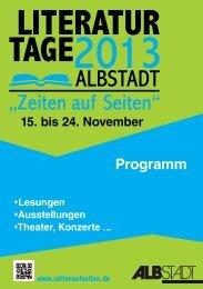 Programm - in Albstadt