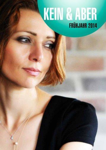 FRÜHJAHR 2014 - Kein & Aber AG