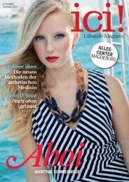 ICI! Magazin - Allee-Center Magdeburg