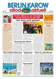 Ausgabe 61 - Mai 2013 - allod media C2 GmbH