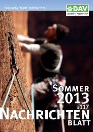 Sommer - Alpenverein Garmisch-Partenkirchen