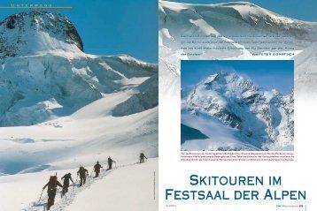 Skitouren im Festsaal der Alpen - Deutscher Alpenverein