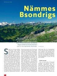 Oberstdorf und das österreichische Kleinwalsertal verbindet viel ...