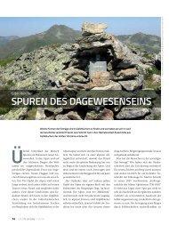 Spuren deS dageweSenSeinS - Deutscher Alpenverein