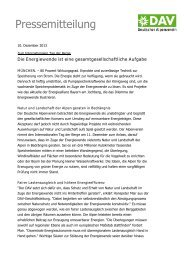 131105 Alpen unter Druck.pdf - Deutscher Alpenverein