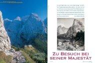 Zu Besuch bei seiner Majestät - Deutscher Alpenverein