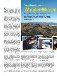 Wander-Wissen nach Wunsch - Deutscher Alpenverein