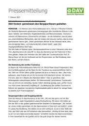 140207 Podiumsdiskussion JPK.pdf - Deutscher Alpenverein