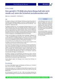 Entscheidung des Monats.fm - Alpmann Schmidt