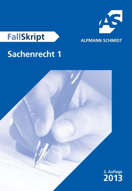 Leseprobe - Alpmann Schmidt