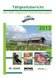 Tätigkeitsbericht - Alpenverein Südtirol