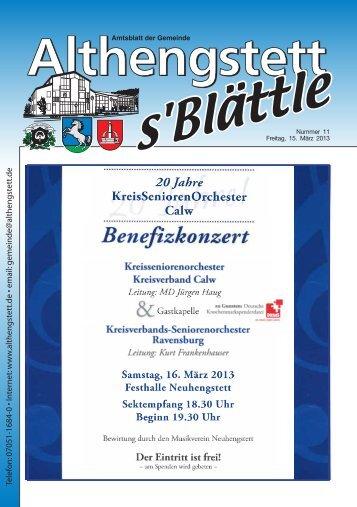 KW 11/2013 - Althengstett