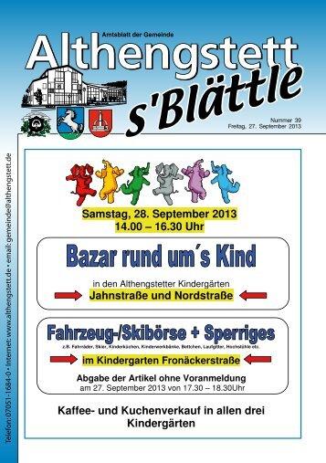 KW 39/2013 - Althengstett
