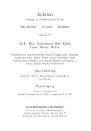 Katalog 58 Auktion 25. November 2013, Hassfurther