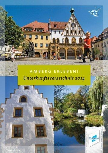 Unterkunftsverzeichnis - Stadt Amberg