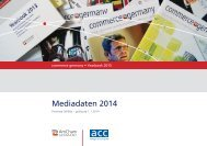 Mediadaten 2014 - AmCham Germany