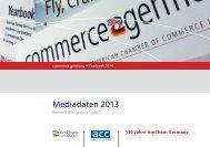 Mediadaten 2013 - AmCham Germany